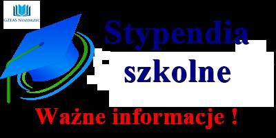 Więcej o: Stypendium szkolne 2019/2020